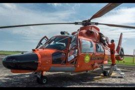Helikopter Basarnas Terbelah Dua