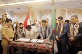 Kesepakatan Kerja Kadin Lampung-Aljazair Ditandatangani