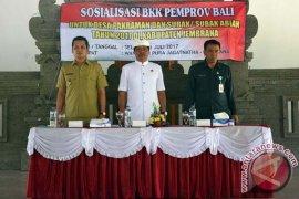 Wagub Bali Minta Jangan Salah Gunakan BKK