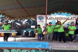 """Kelompok Musik Rutan Sumenep Tampil di Perayaan """"HANI"""" (Video)"""