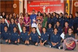 Bunda PAUD Bali Ajak Stop Kekerasan pada Anak