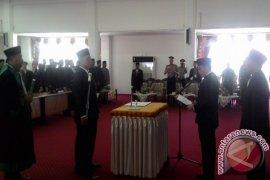 Kader PKS HSS Mardiansyah Dilantik PAW DPRD