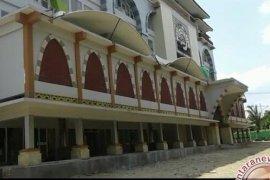Tiga kanopi percantik asrama haji Jambi  (Video)