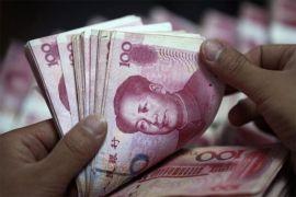 Yuan bangkit 134 basis poin jadi 6,9895 terhadap dolar AS