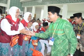 Tiga Kloter Haji telah Diberangkatkan dari Embarkasi Balikpapan