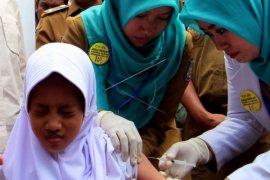 Capaian imunisasi MR Kalbar 36,12 persen