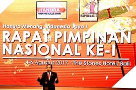 Presiden hadiri Rapimnas Hanura di Bali