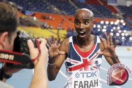 Olimpiade Tokyo diundur, Mo Farah optimistis pertahankan gelar juara 10.000 meter