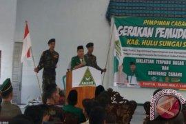 Gerakan Pemuda Ansor HSS Gelar Diklatsar
