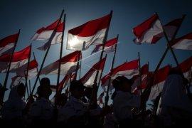 Polisi ajak pelajar perbatasan hargai simbol negara