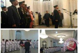 Wali Kota Pangkalpinang Kukuhkan 38 Anggota Paskibra
