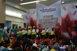 Ribuan Siswa PAUD Surabaya Semarakkan Hari Kemerdekaan