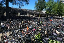 Kota Utrecht Bangun Garasi Sepeda Terbesar di Dunia