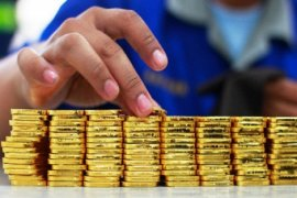 Emas Senilai 28,3 Miliar Dolar AS Itu Kembali Ke Frankfurt
