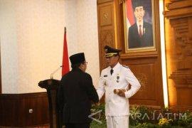 Sugeng Rismiyanto Dilantik Sebagai Wali Kota Madiun