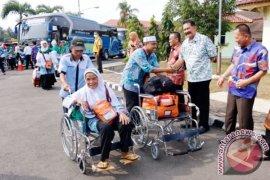 Kedatangan Jemaah Haji Lampung Disambut Meriah Di Rajabasa Lampung
