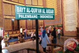Wisata Religi Bayt Al Quran Palembang Dibanjiri Wisatawan
