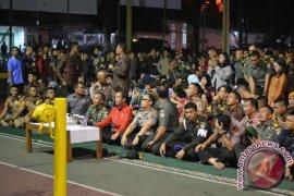 Nobar G30S/PKI Bersama Presiden Jokowi Di Makorem Bogor (Video)