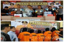 Operasi Sikat Semeru 2017, Ungkap Sembilan Kasus Narkoba di Situbondo (Video)