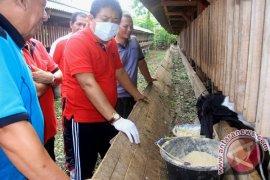 Ratusan Ekor Kambing Bantuan Siap Dibagikan