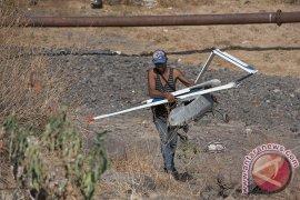 Drone Peneliti Kawah Gunung Agung Jatuh