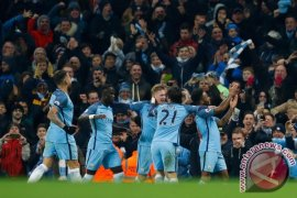Manchester City gulung Stoke City skor 7-2