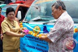 CPI Membantu Pakan Ternak Pengungsi Gunung Agung (Video)