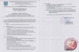 Pemkab HSS Buka Seleksi Anggota UP3