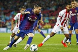 Barcelona Seri Tanpa Gol dengan Olympiakos