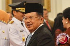 Wapres JK Tiba Kembali di Jakarta