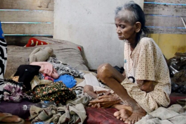 Seorang Nenek Di Pontianak Hidup Memprihatinkan