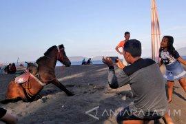 Wisata Kuda Di Pantai Cacalan