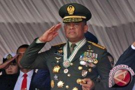 Panglima TNI mutasi besar-besaran perwira tinggi