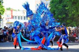 Keindahan Gunung Ijen Akan Ditampilkan dalam Karnaval Busana Banyuwangi Ethno Carnival