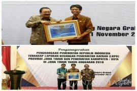 Pemkab Bondowoso Dapat Penghargaan Opini WTP dari Kementerian Keuangan