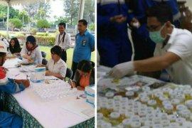 BNNK Balikpapan Lakukan Tes Urine 512 Karyawan Pertamina