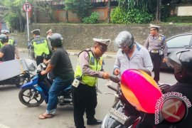 Polres Tabanan Menggelar Operasi Tindak 500 Pelanggar