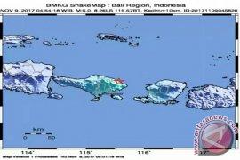 Gempa 5 SR Guncang Karangasem