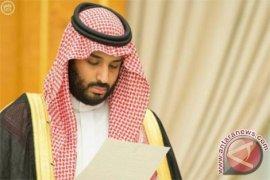 Putra Mahkota Saudi bahas Yaman dengan Sekjen PBB