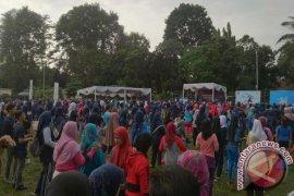 Dinkes Bogor Laksanakan Senam Massal Kampanyekan Germas