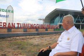 Pengerjaan landasan Bandara Samarinda ditargetkan selesai Februari