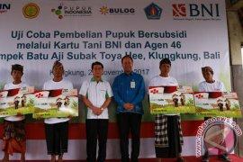 BNI Bali Nusra Uji Coba Transaksi Kartu Tani