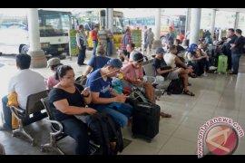 Pemudik di Terminal Mengwi merasa nyaman