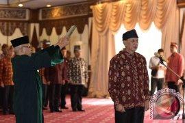 Gubernur Jambi Lantik Sekda Hasil Lelang Jabatan