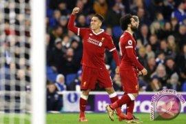 Liverpool pecundangi Brighton, 5-1