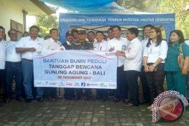 10 BUMN Bantu Pengungsi Gunung Agung di Tejakula-Buleleng