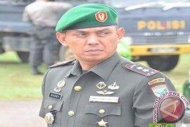 Dandim Sanggau Siagakan Pasukan Waspada Bencana