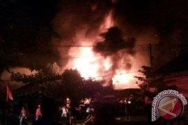 Tiga Rumah Warga Tabalong Terbakar