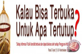 KI Banten Umumkan Peringkat Keterbukaan Informasi