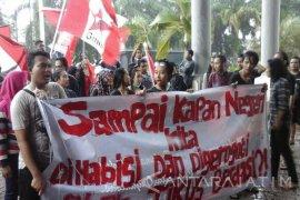 GMNI Jember Tagih Komitmen Presiden Jokowi Untuk Penegakan Hukum Bebas Korupsi